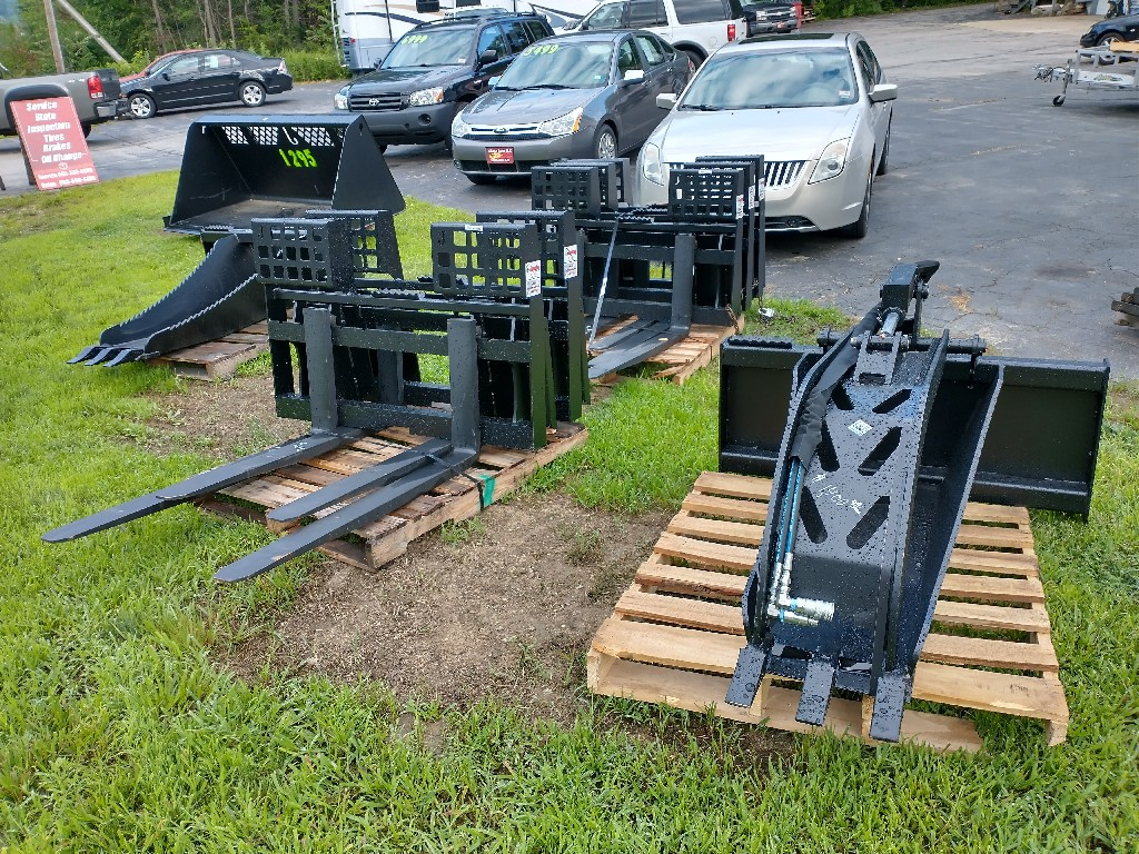 Skid Steer, Loader, Tractor Attachments from Jenkins Iron and Steel