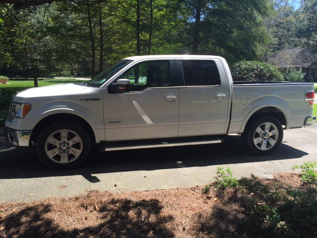 2012 Ford F-150 lariat ecoboost