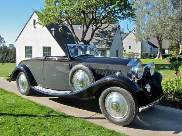 1933 1933 Rolls-royce 20/25 Dr By Carlton Classic