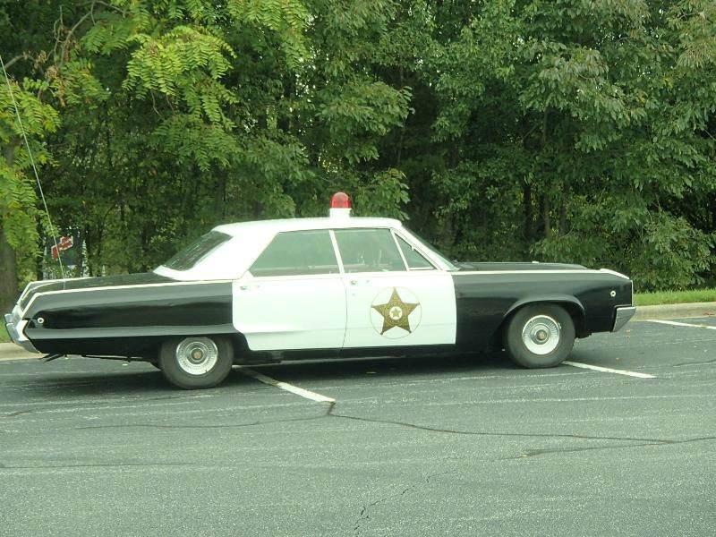 1968 Dodge Polara Mayberry Police Car