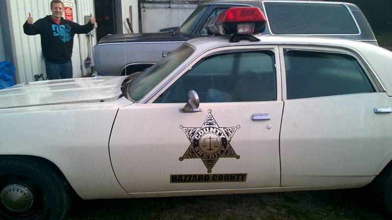 1973 Plymouth Satellite Dukes Of Hazard Police Car!