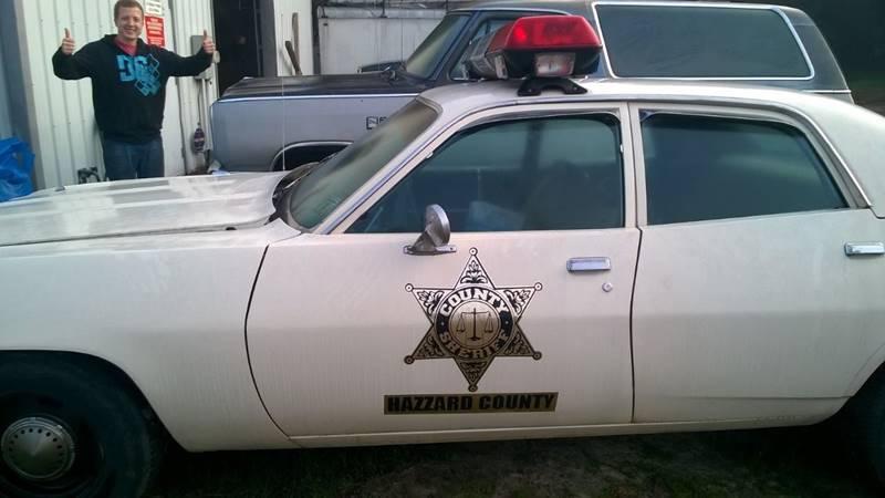 1973 Plymouth Satellite Dukes Of Hazard Police Car!