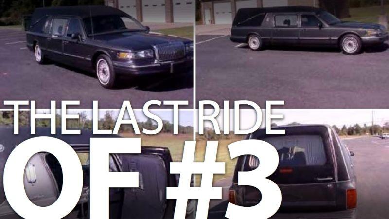 1996 Lincoln Dale Earnhardt SR Hearse