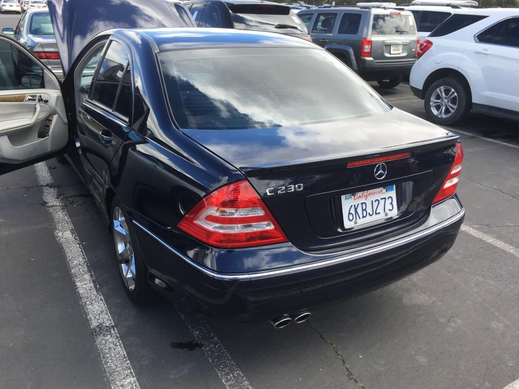 2007 Mercedes C230
