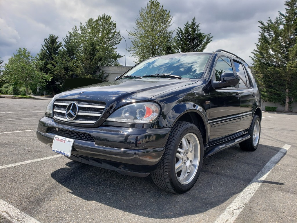2001 Mercedes-Benz M-Class ML320 GAS 4X4 AWD 4-MATIC