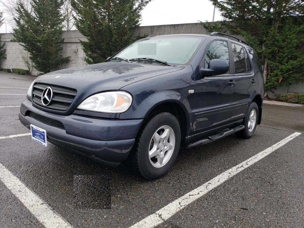 2000 Mercedes-Benz M-Class ML320 GAS 4X4 AWD 4-MATIC