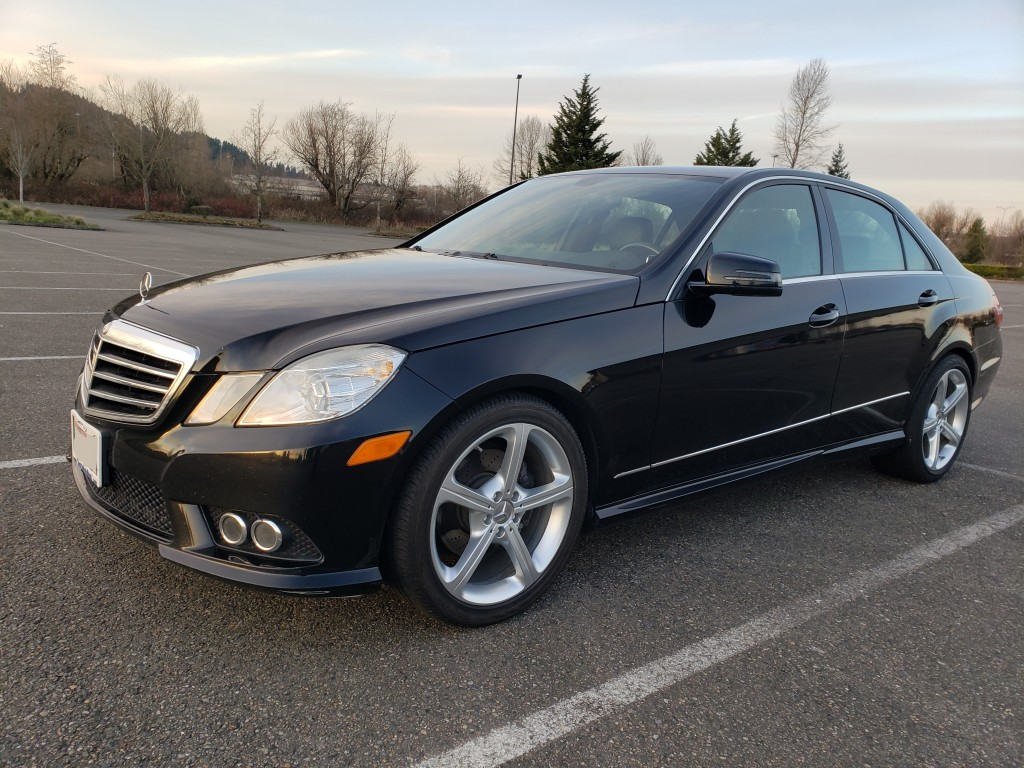 2010 Mercedes-Benz E350 4-MATIC AMG Package AWD