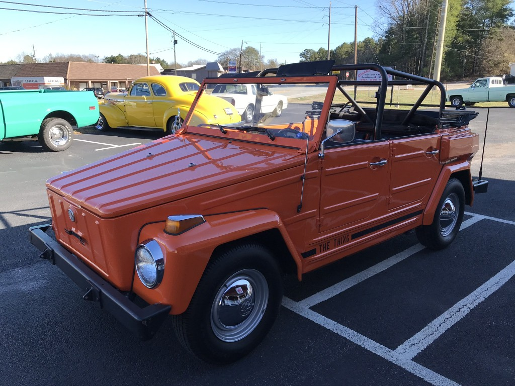 1974 VW Original Thing 14,666 mi.