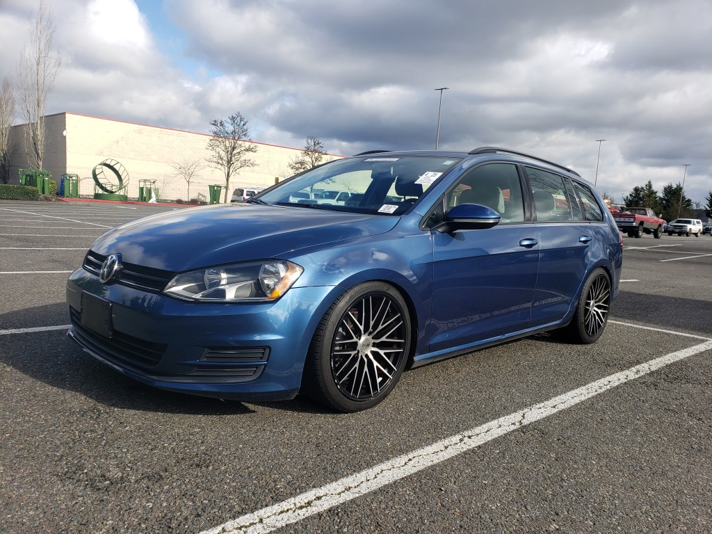 2016 Volkswagen Golf SportWagen Tuned & Lowered