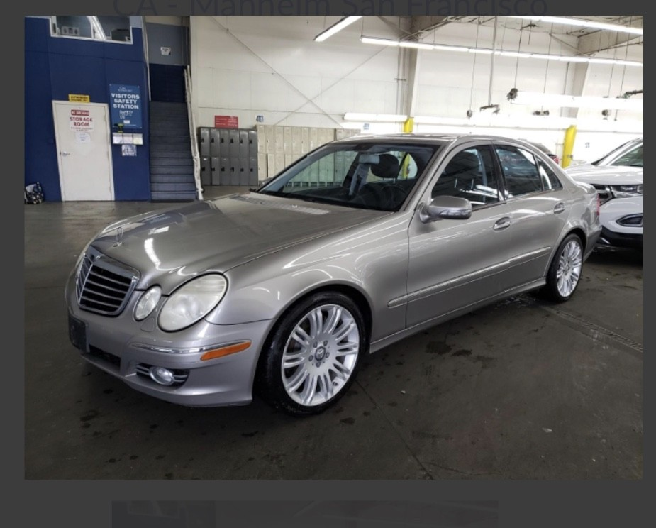 2008 Mercedes E350