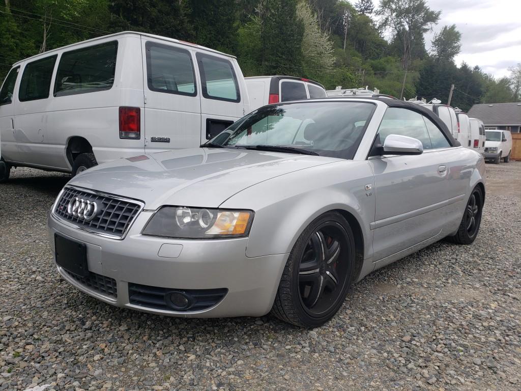 2005 Audi S4 Convertible