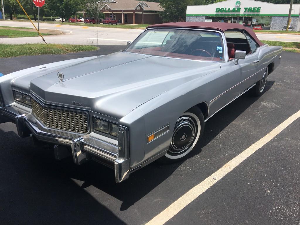 1976 Cadillac Eldorado conv