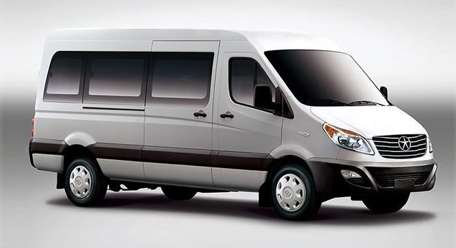 2020 JAC i6 All Electric 16+1 Passenger Tour Van