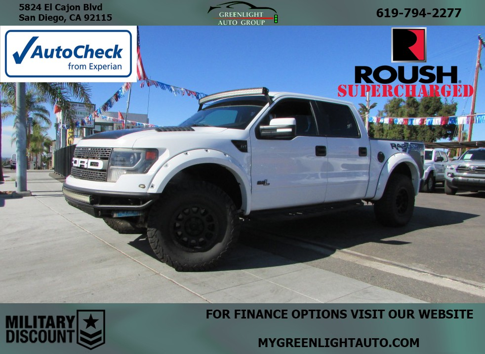 2014 Ford F-150 Roush Supercharger