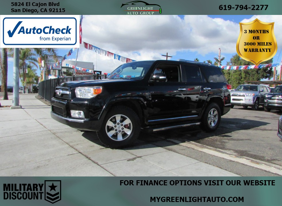2011 Toyota 4Runner 4WD Leather