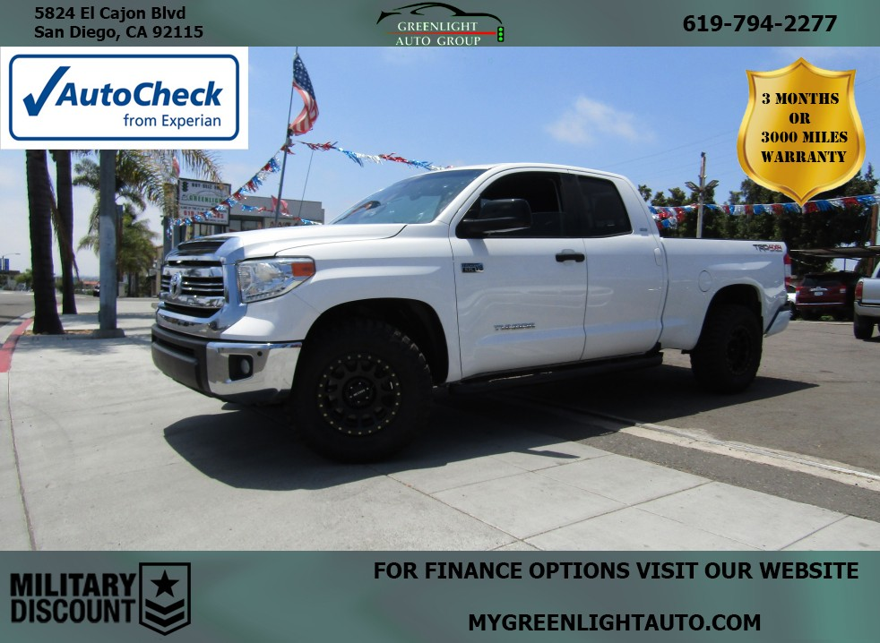 2017 Toyota Tundra TRD Off-Road 4WD