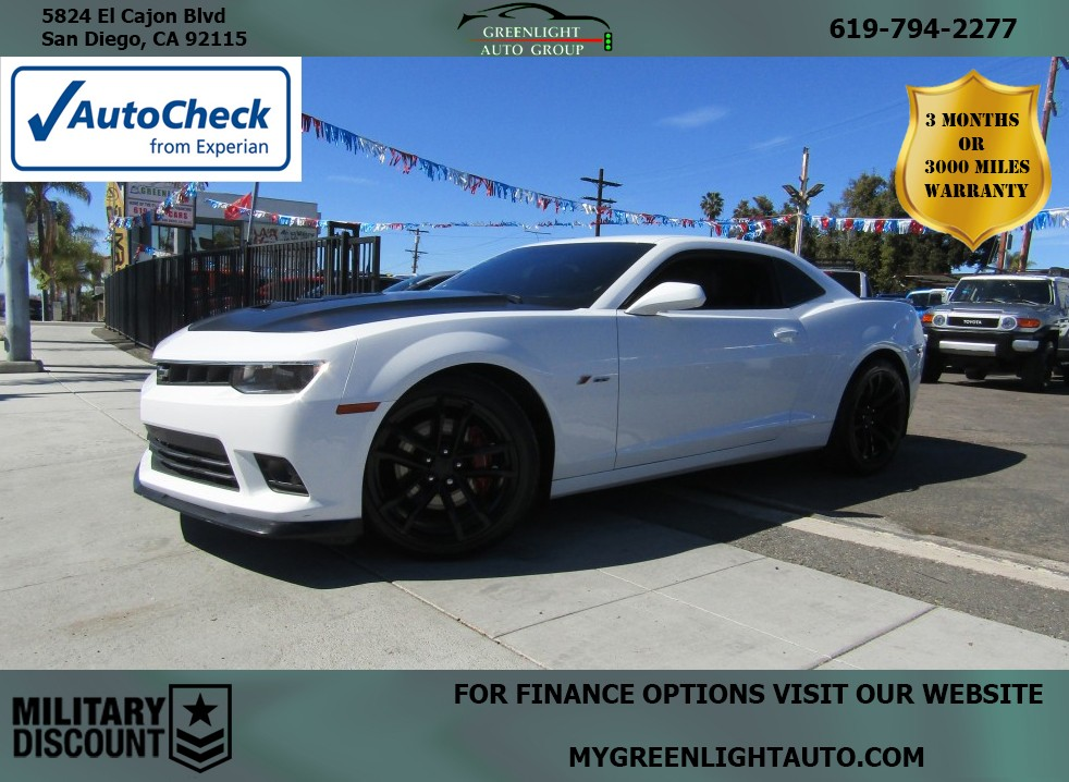 2014 Chevrolet Camaro 2SS 1LE Package