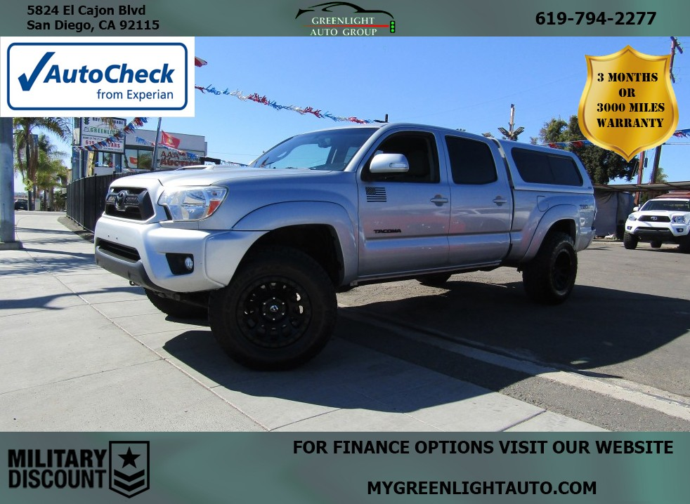 2013 Toyota Tacoma TRD Sport 4WD Longbed