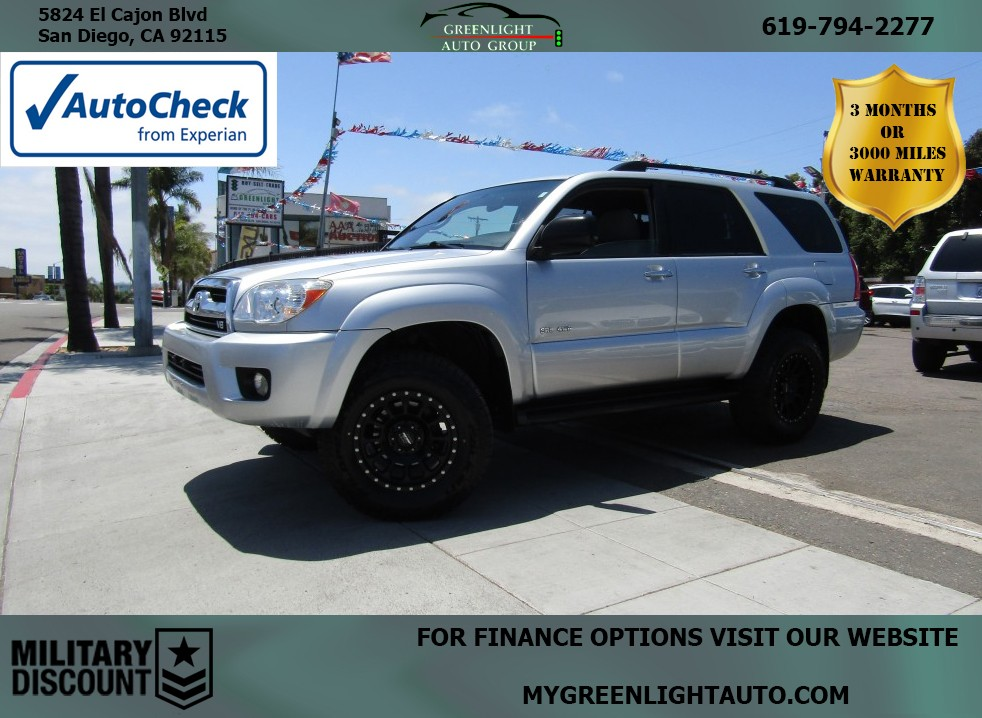 2007 Toyota 4Runner 4WD V8 w/3rd Row Seating