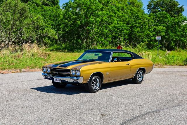 1970 Chevrolet Chevelle SS with Build Sheets